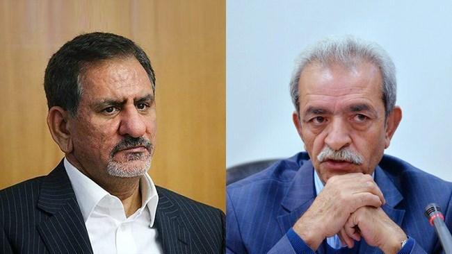 موافقت جهانگیری با پیشنهاد اتاق ایران برای ترخیص کالا بدون دریافت گواهی مبدأ